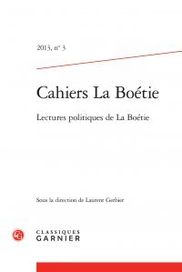 Cahiers La Boétie