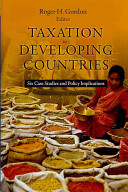 Taxation in Developing Countries