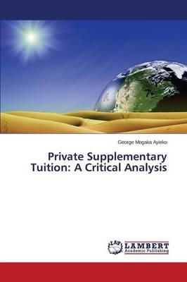 Private Supplementary Tuition