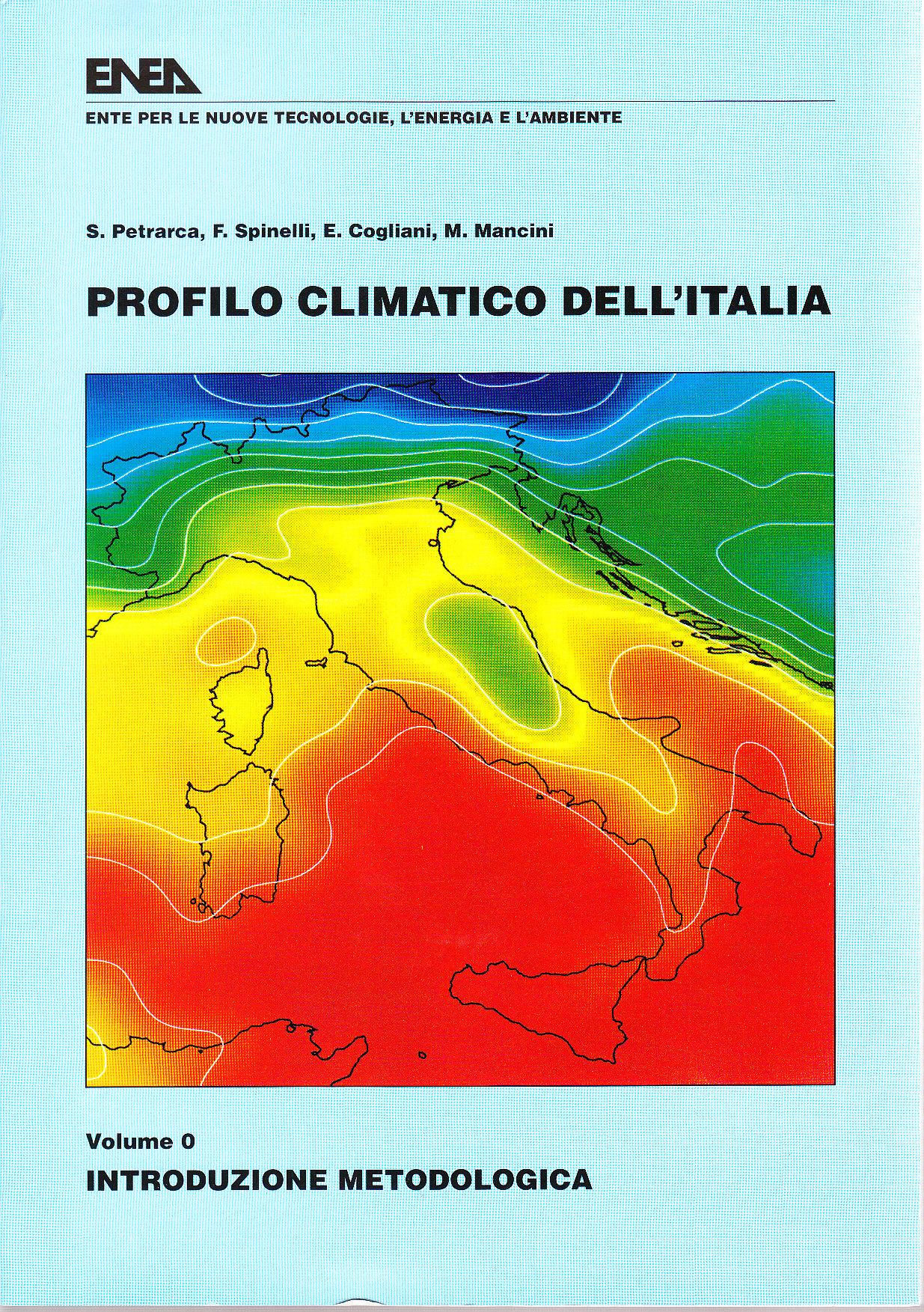 Profilo climatico dell'Italia / Introduzione metodologica