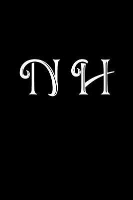 N H Double Monogram Journal