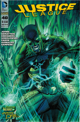 Justice League n. 40