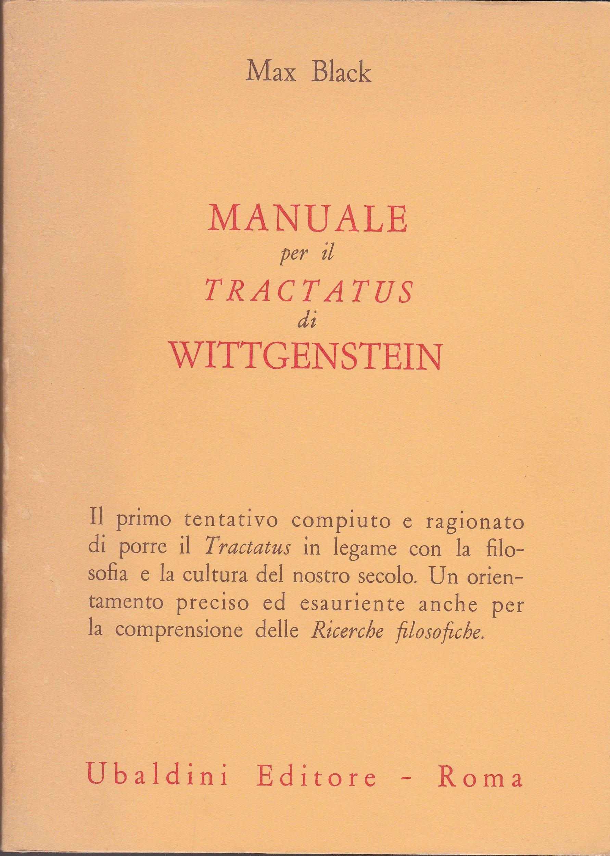 Manuale per il «Tractatus» di Wittgenstein