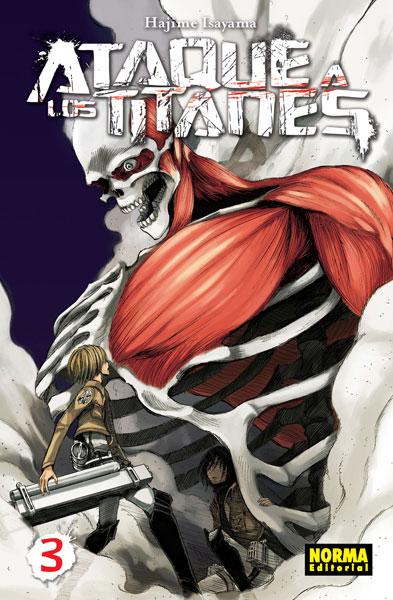 Ataque a los Titanes #3