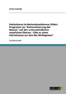 Patriotismus im Nationalsozialismus