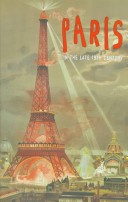 End of a Century Paris in the 1890s