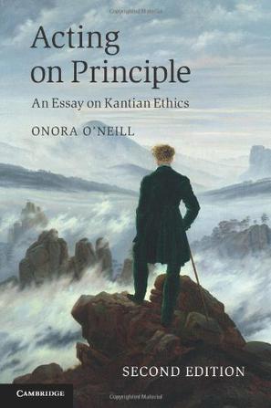 Acting on Principle