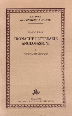 Cronache letterarie anglosassoni - Vol. 1