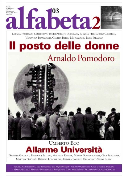 Alfabeta2, Anno I, n. 3 (ottobre 2010)