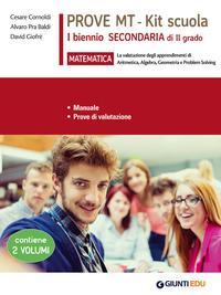 Matematica. Prove MT. Kit scuola 1° biennio secondaria di II grado