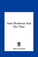 Anne Bradstreet and ...