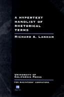 A Hypertext Handlist of Rhetorical Terms