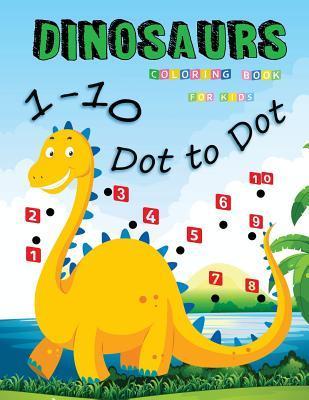 1-10 Dot to Dot Dino...