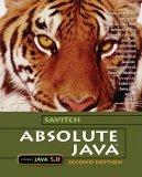 Absolute Java with Student Resource Disk
