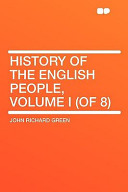 History of the English People, Volume I (of 8)