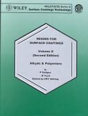 Resins for Surface Coatings, 3VL Set