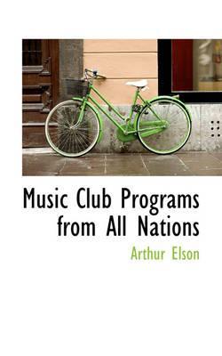 Music Club Programs ...