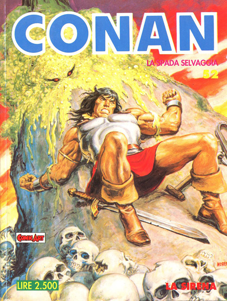 Conan la spada selvaggia n. 52