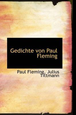 Gedichte Von Paul Fleming