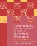 Human Behavior, Communities, Organizations, and Groups in the Macro Social Environment