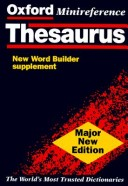Oxford Minireference Thesaurus