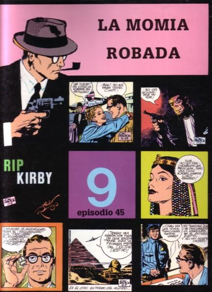 Rip Kirby #45: La momia robada