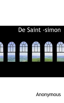 de Saint -Simon