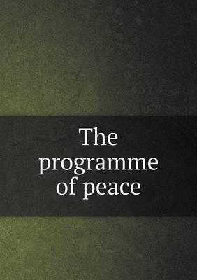 The Programme of Peace