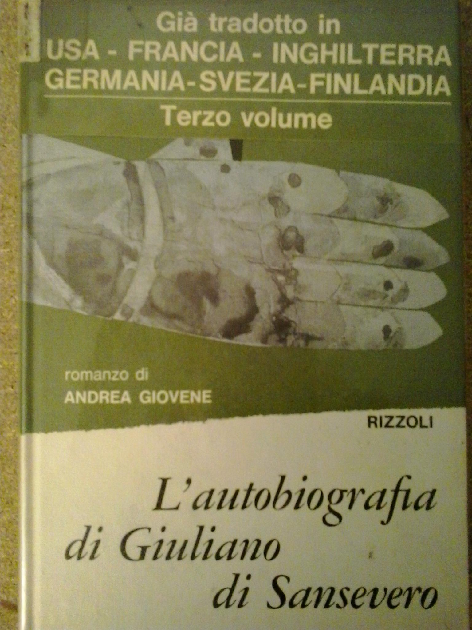L'autobiografia di Giuliano di Sansevero - vol. 3