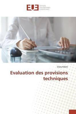 Évaluation des Provisions Techniques