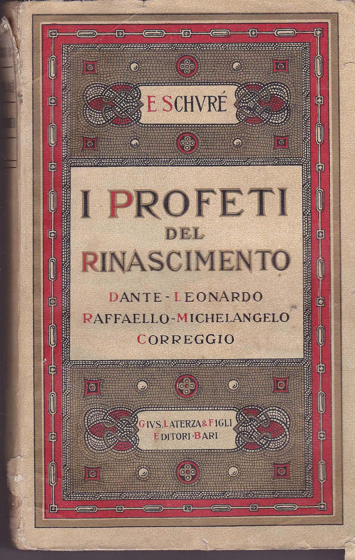 I profeti del Rinasc...