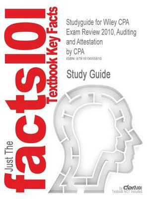 Studyguide for Wiley CPA Exam Review 2010, Auditing and Attestation by CPA, ISBN 9780470453490