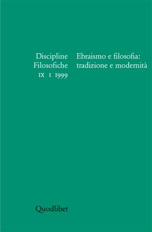 Discipline filosofiche (1999) (1)