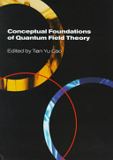 Conceptual Foundations of Quantum Field Theory