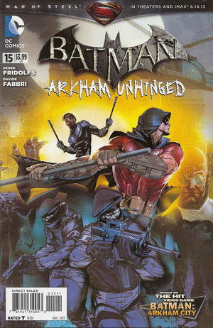 Batman: Arkham Unhinged Vol.1 #15