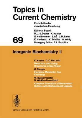 Inorganic Biochemistry II