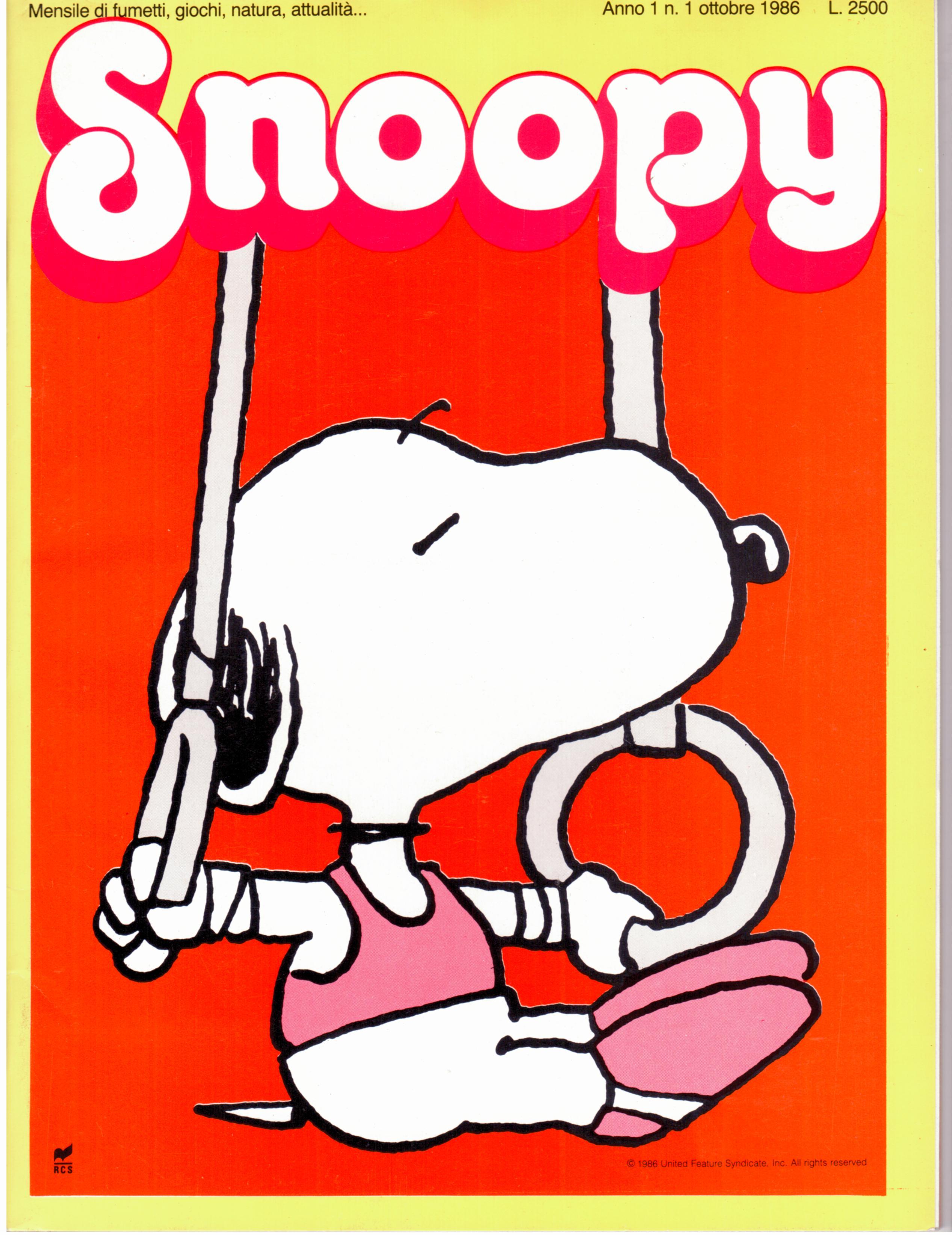 Snoopy n. 1