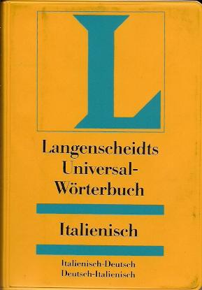 Langenscheidts Universal-Wörterbuch Italienisch