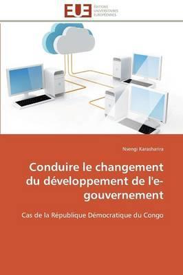 Conduire le Changement du Developpement de l'E-Gouvernement