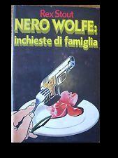 Nero Wolfe: inchiest...