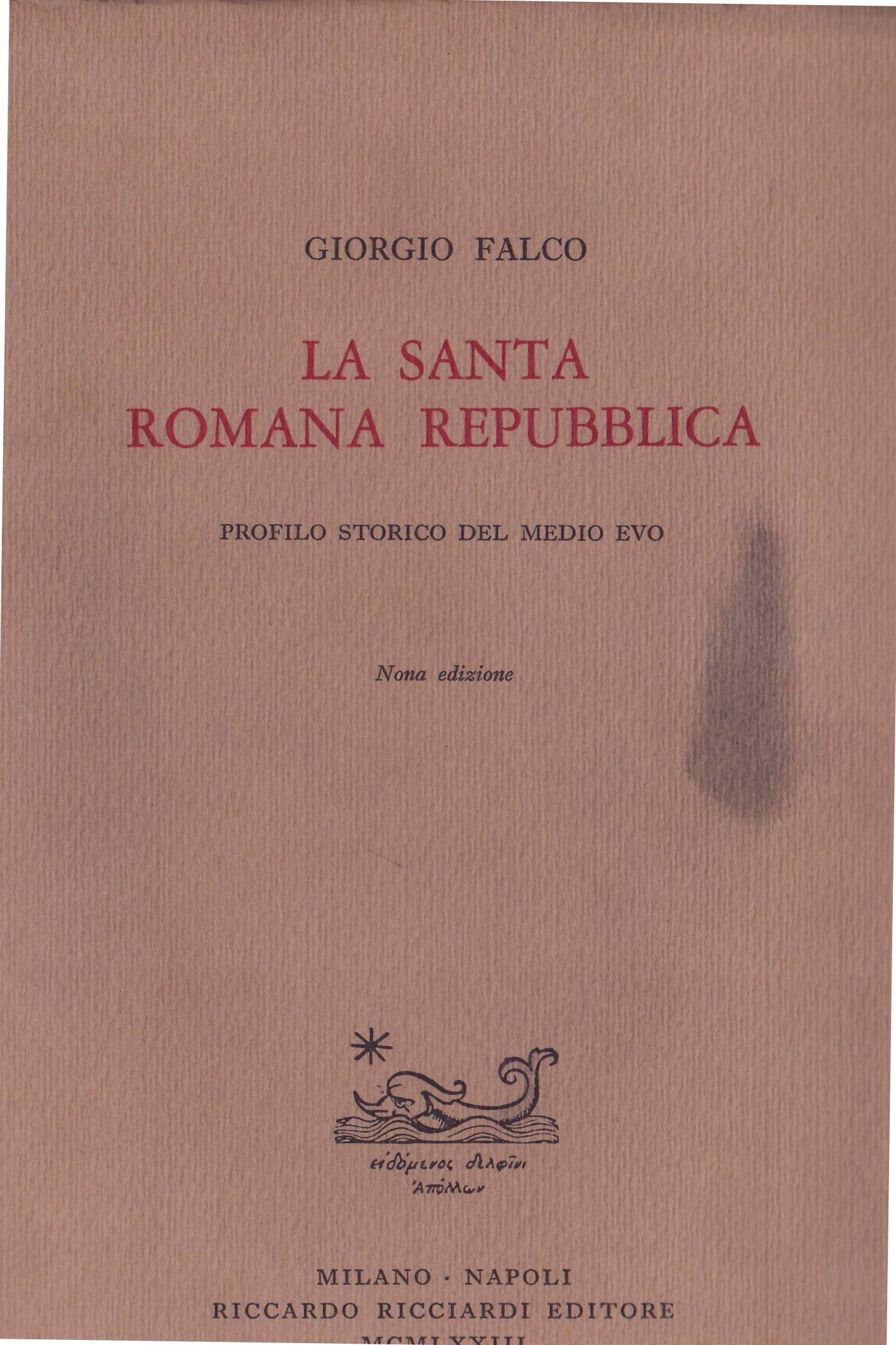La santa romana repu...
