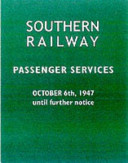 Southern Railway Passenger Services
