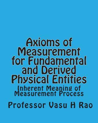 Axioms of Measurement for Fundamental and Derived Physical Entities