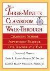 The Three-Minute Classroom Walk-Through
