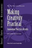 Making Creativity Practical