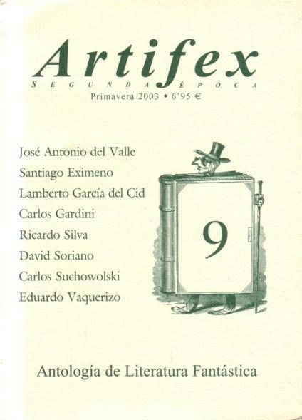 Artifex, primavera 2003 antologiade literatura fantastica