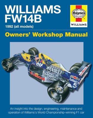 Haynes Williams FW14B Manual 1992 All Models