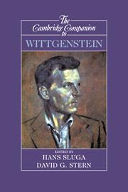 The Cambridge Companion to Wittgenstein