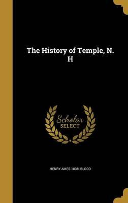 HIST OF TEMPLE N H