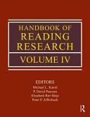 Handbook of reading research